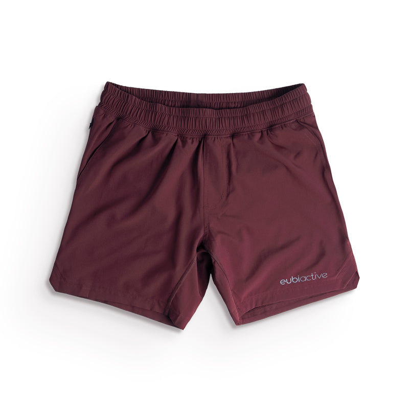 EUBI Active Ultima Shorts - Burgundy