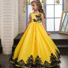 939327205e6 Flower Girl Dress For Wedding Baby Girl Dress 5-14 Years Birthday Outfits  Dresses Girl