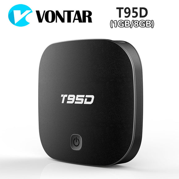 T95D Android TV Box Rockchip RK3229 Quad Core Android 6.0 BT4.0 RAM 1GB or 2GB DDR3 ROM 8GB 2.4GHz WiFi HD Smart TV Media Player