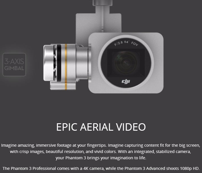 In stock!Brand new RC Helicopter DJI Phantom 3 Professional DTF Quadcopter  Drone with 4K video camera&Refurbished P3 Pro
