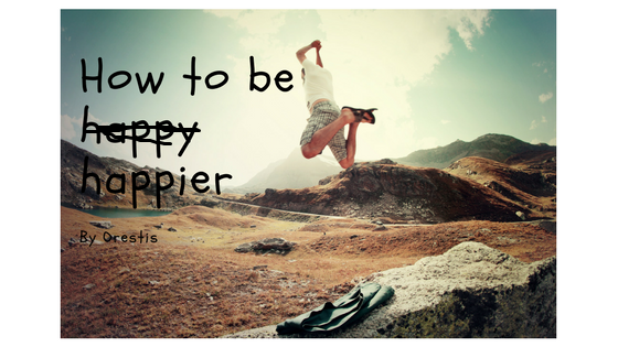 How to Be happy? Have positive thinking.