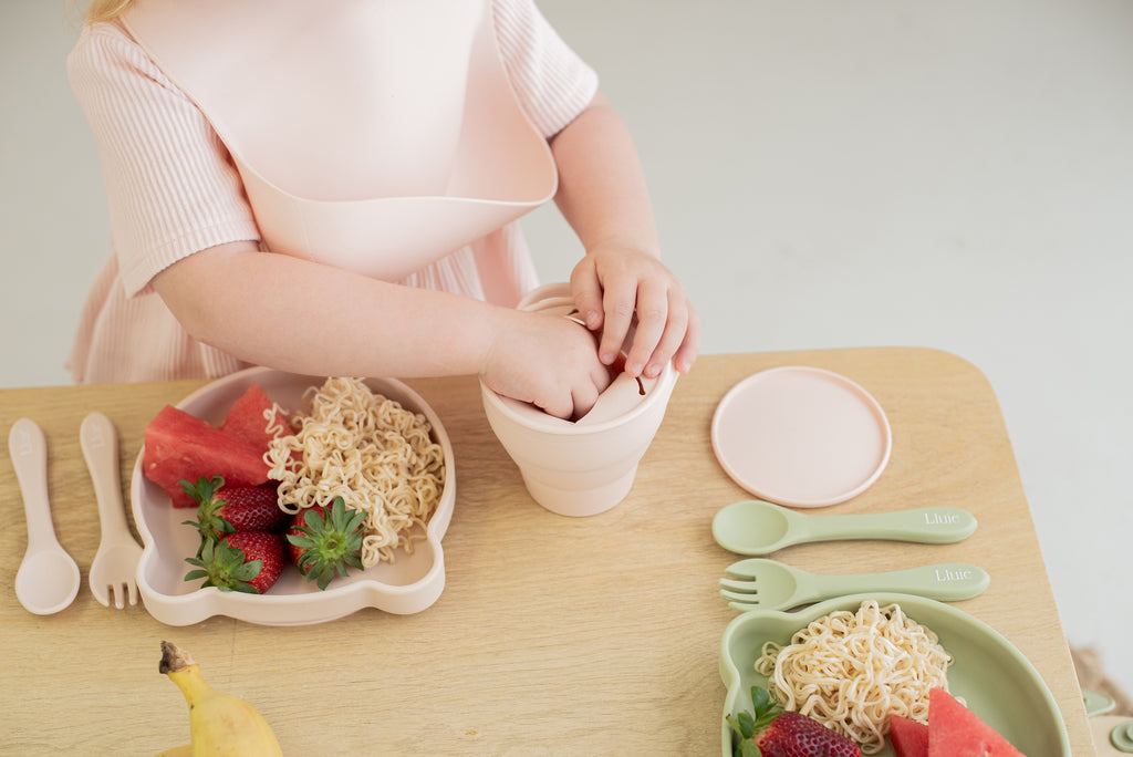 Collapsible Snack Cup - Blush