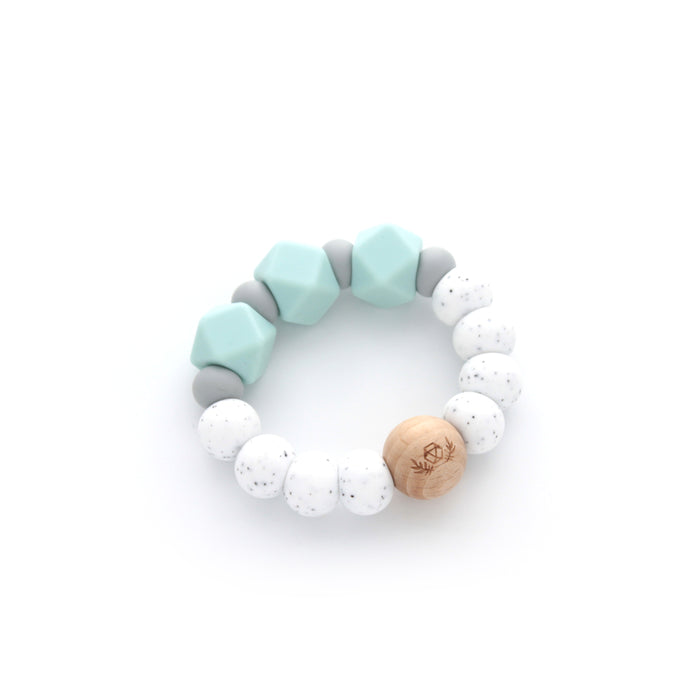 Essential Teether | Teething Ring | Silicone Teether | Seafoam