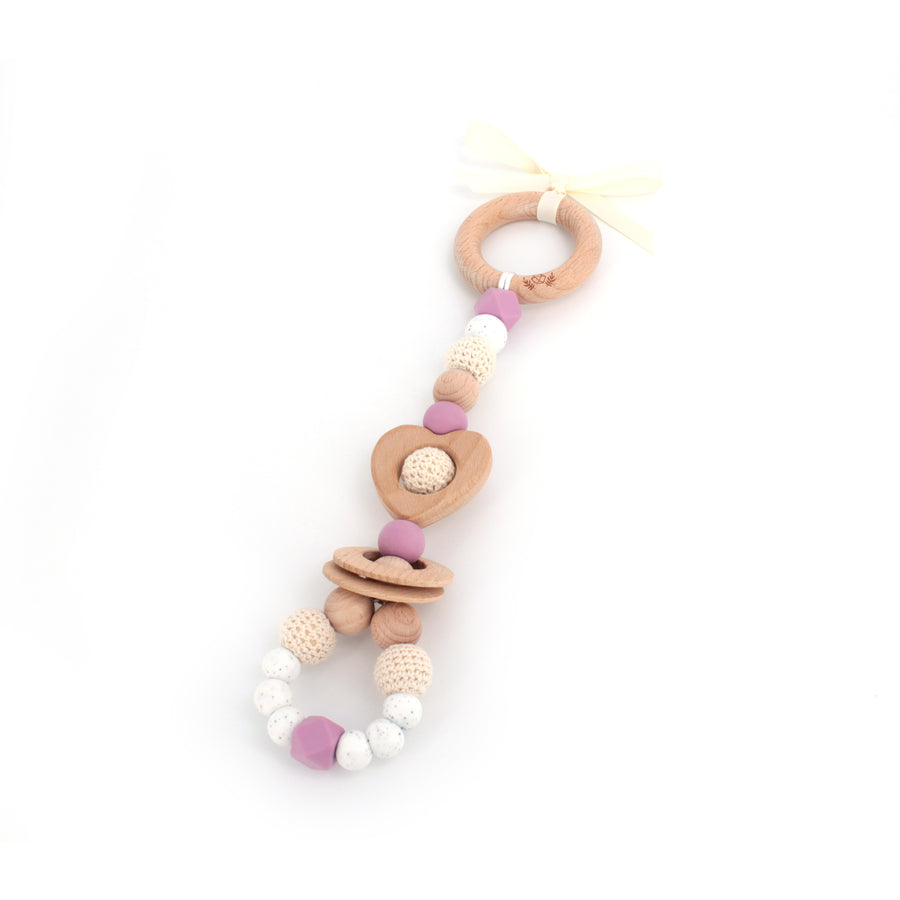 LOVE Teething Toy - Choose your colour