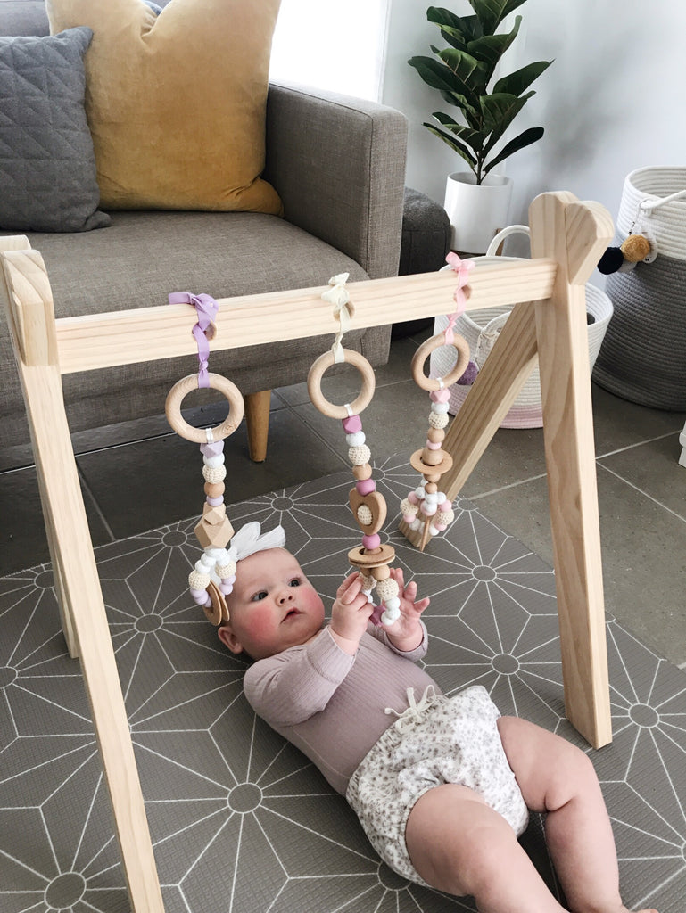 LOVE Baby Play Gym Set - Choose Your Colour