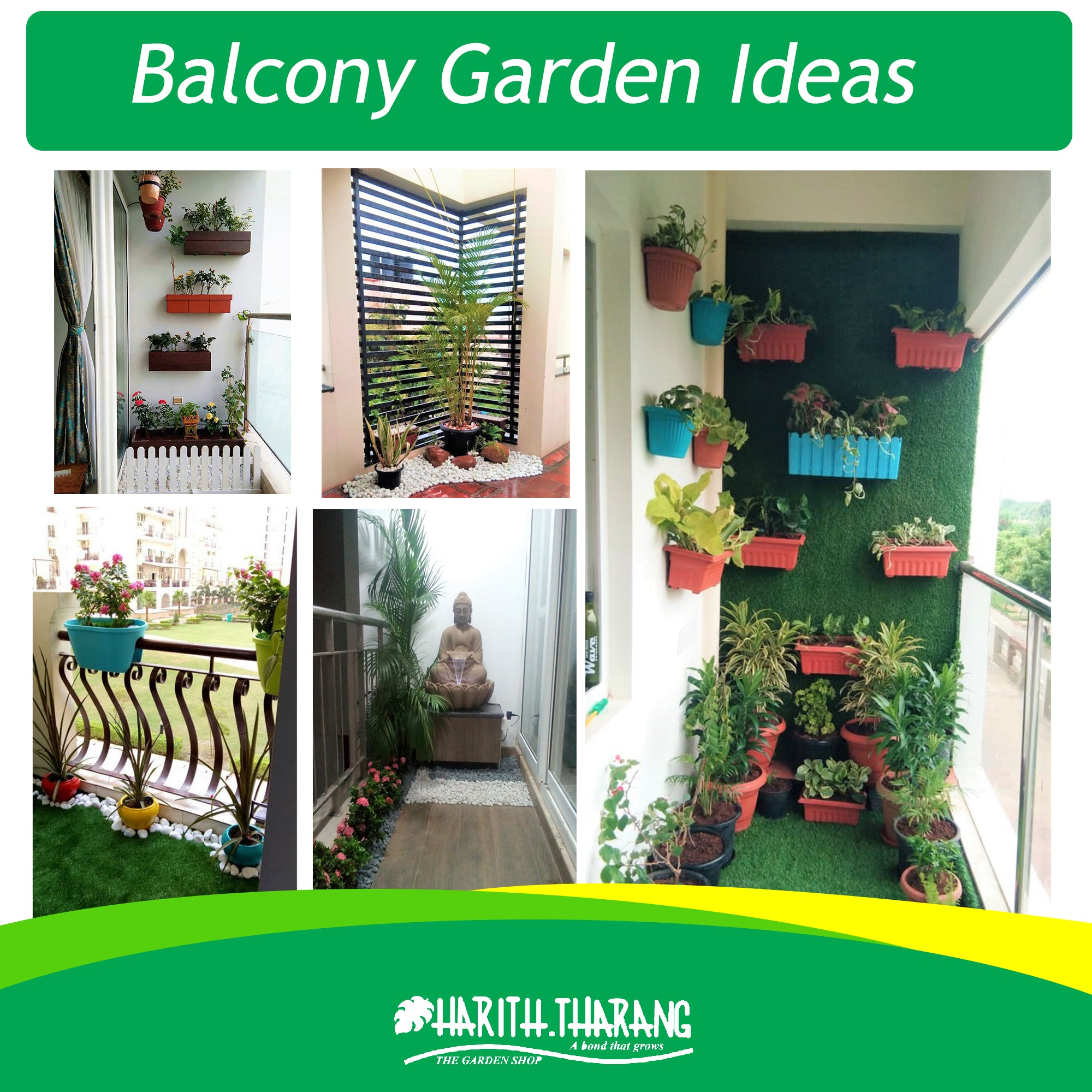 Simple balcony garden design ideas for Indian homes – hariththarang