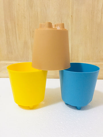 krish plastic pot .m