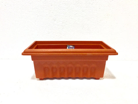terracotta plastic pot 14""