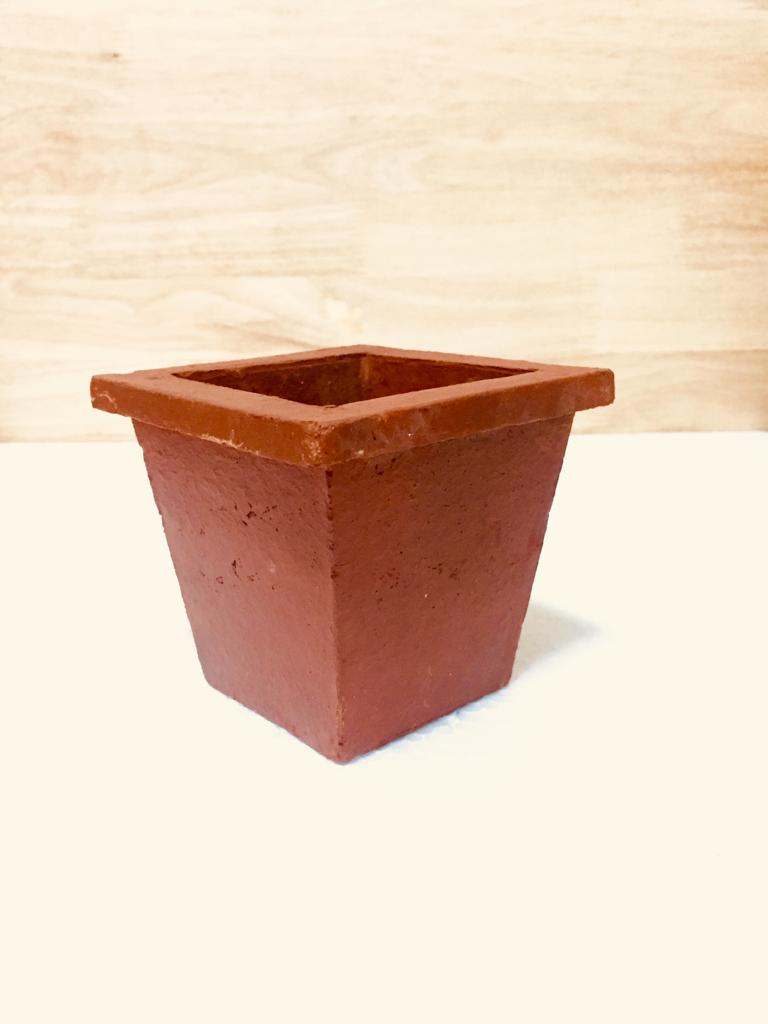 square mud pot  5""