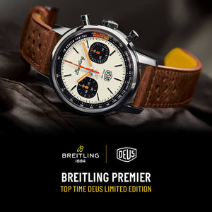 Kicking Into Gear: Introducing The Breitling Top Time Deus Limited Edition Timepiece