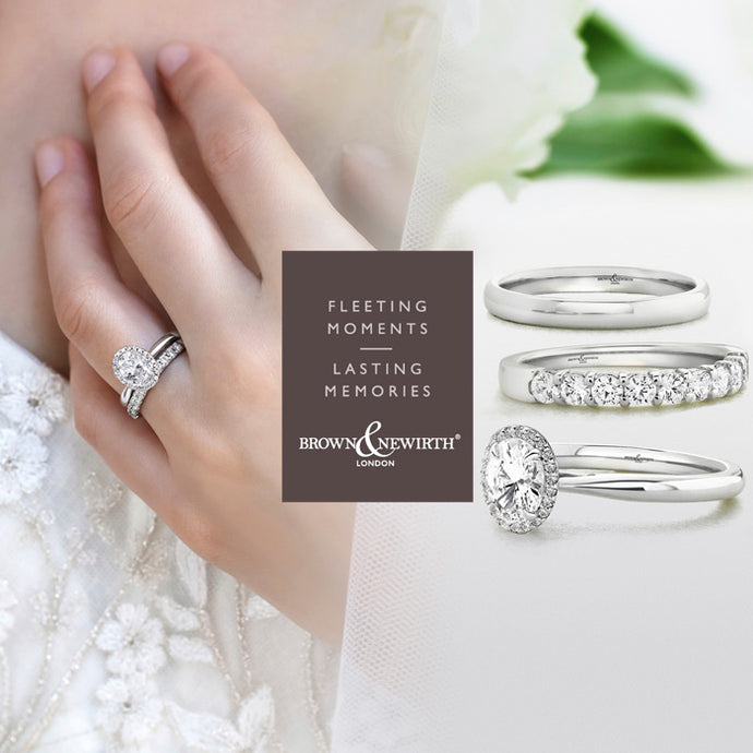 Start Your Forever Today With An Engagement Ring by Brown & Newirth.