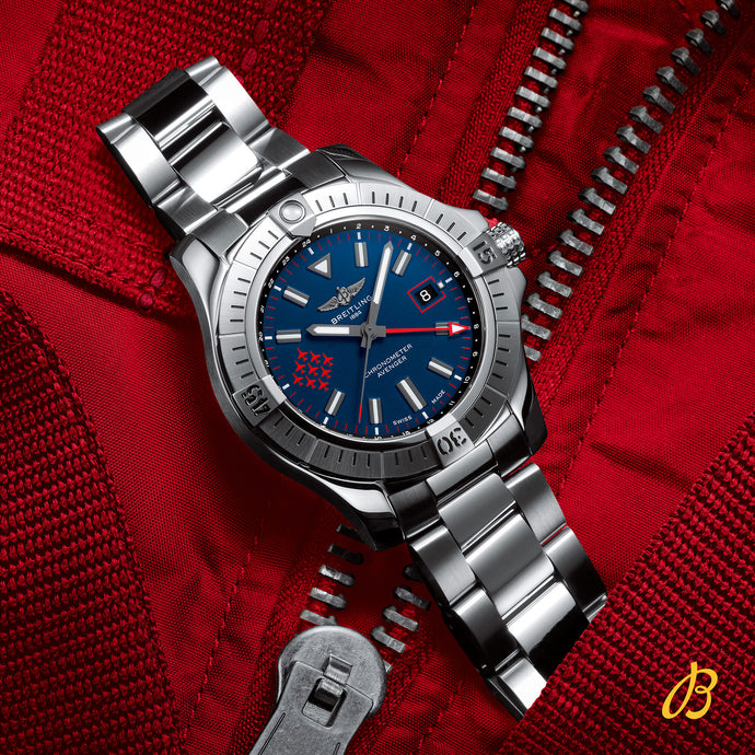 Breitling Launch Exclusive Avenger Royal Air Force Red Arrows Limited Edition