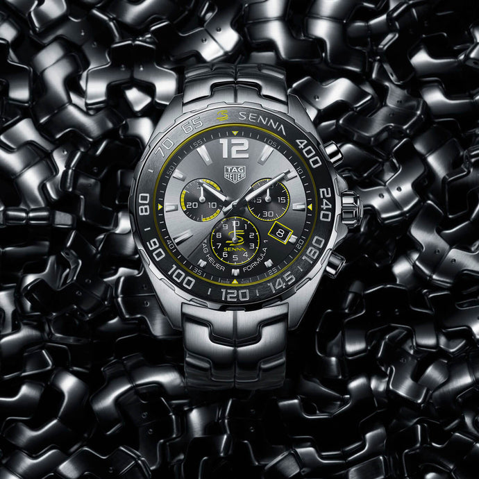 TAG Heuer Breaks Formula 1 Speed Record With Two New Timepieces Inspired By Ayrton Senna