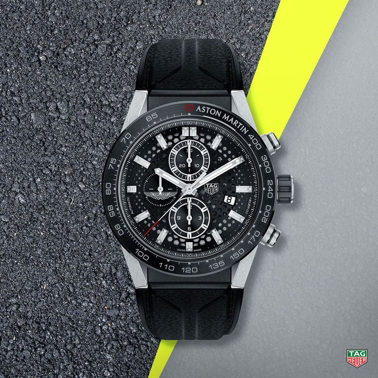 TAG Heuer has unveiled two Special Edition models honouring Aston Martin and Aston Martin Racing.