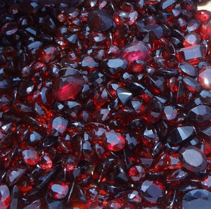 The birthstone for January is Garnet.