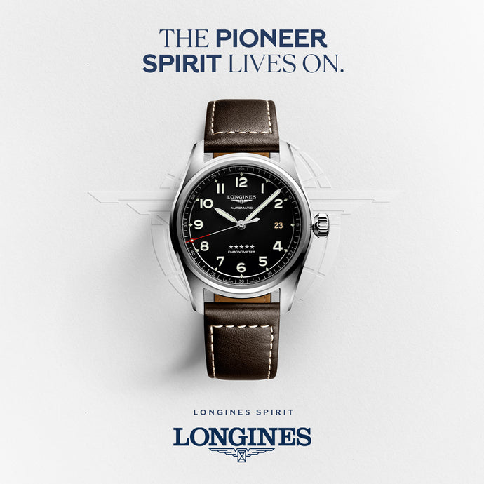The Pioneer Spirit Lives On With The New Longines Spirit Watch Collection