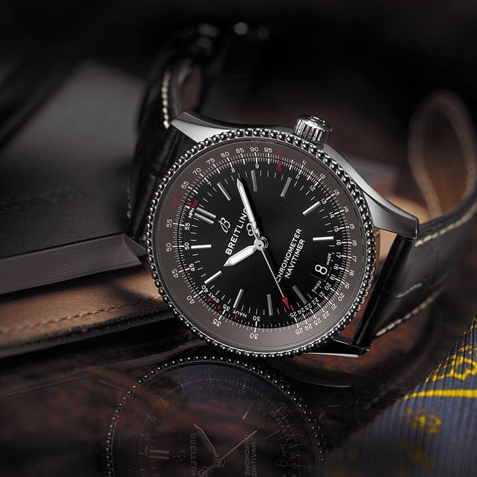 THE LEGEND IN A NEW 38 MILLIMETER CASE! THE BREITLING NAVITIMER 1 AUTOMATIC 38
