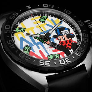 TAG Heuer Celebrates the Launch of Two New Editions with Art Provocateur Alec Monopoly