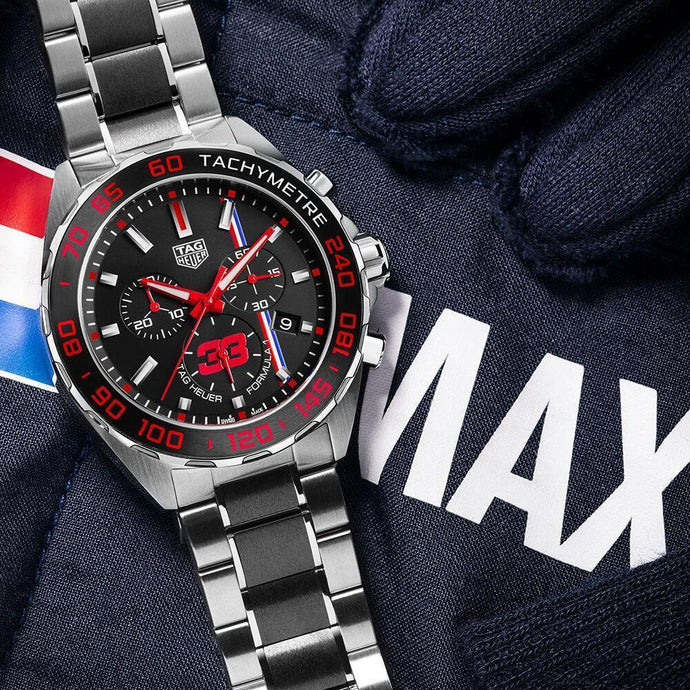 Max Verstappen Creates The Design Of A New Special Edition TAG Heuer