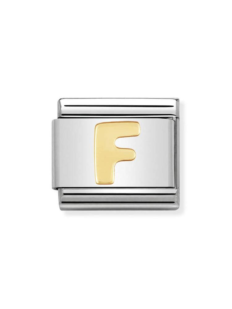 Nomination Classic Letter F Charm 030101-06