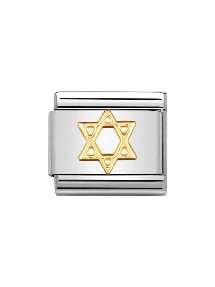 Nomination Classic Star of David Charm 030105-05