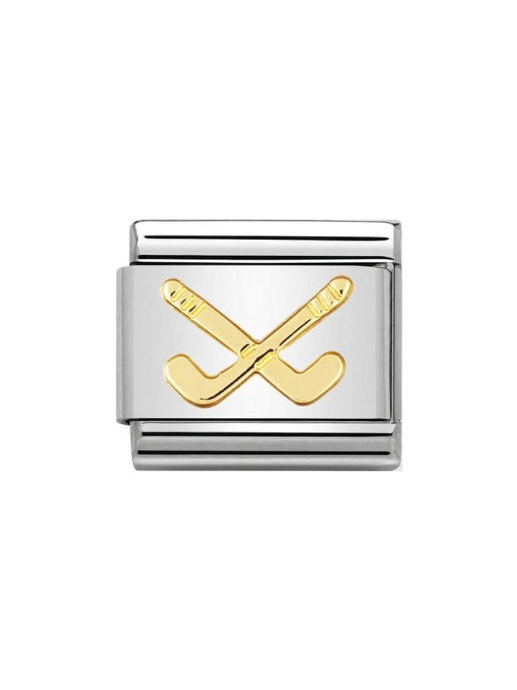 Nomination Classic Hockey Clubs Charm 030106-07