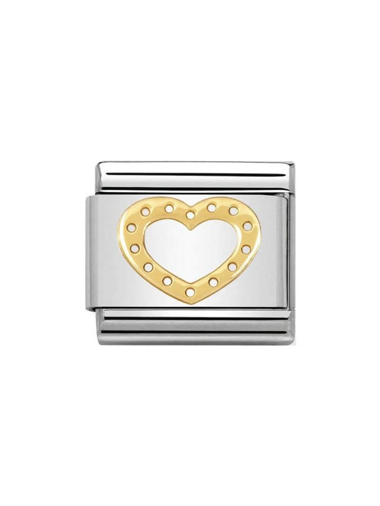 Nomination Classic Heart with Dots Charm 030116-19