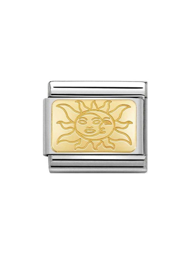 Nomination Sun & Moon Charm 030153-19