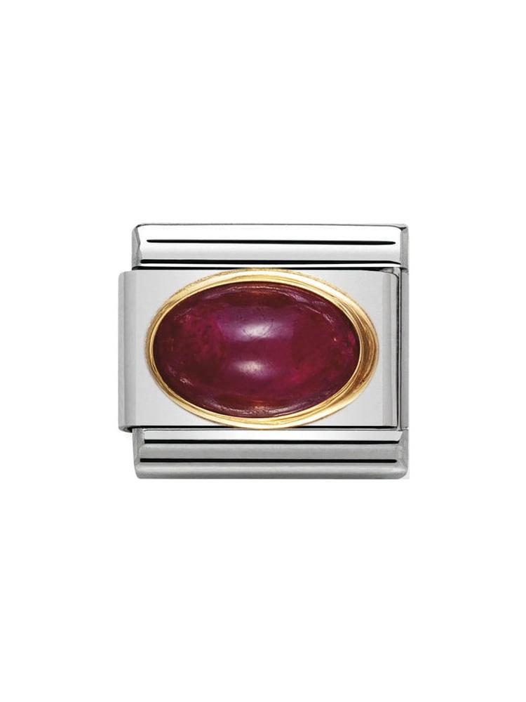 Nomination Classic Ruby Birthstone Charm 030504-10