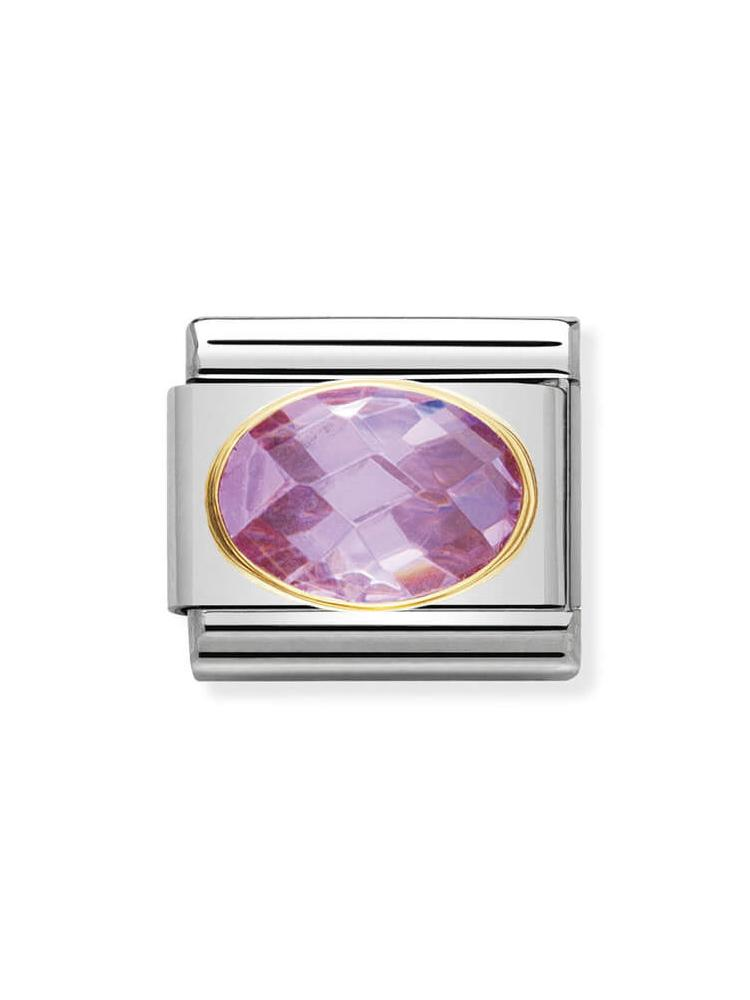 Nomination Classic Pink Faceted Zirconia Charm 030601-003