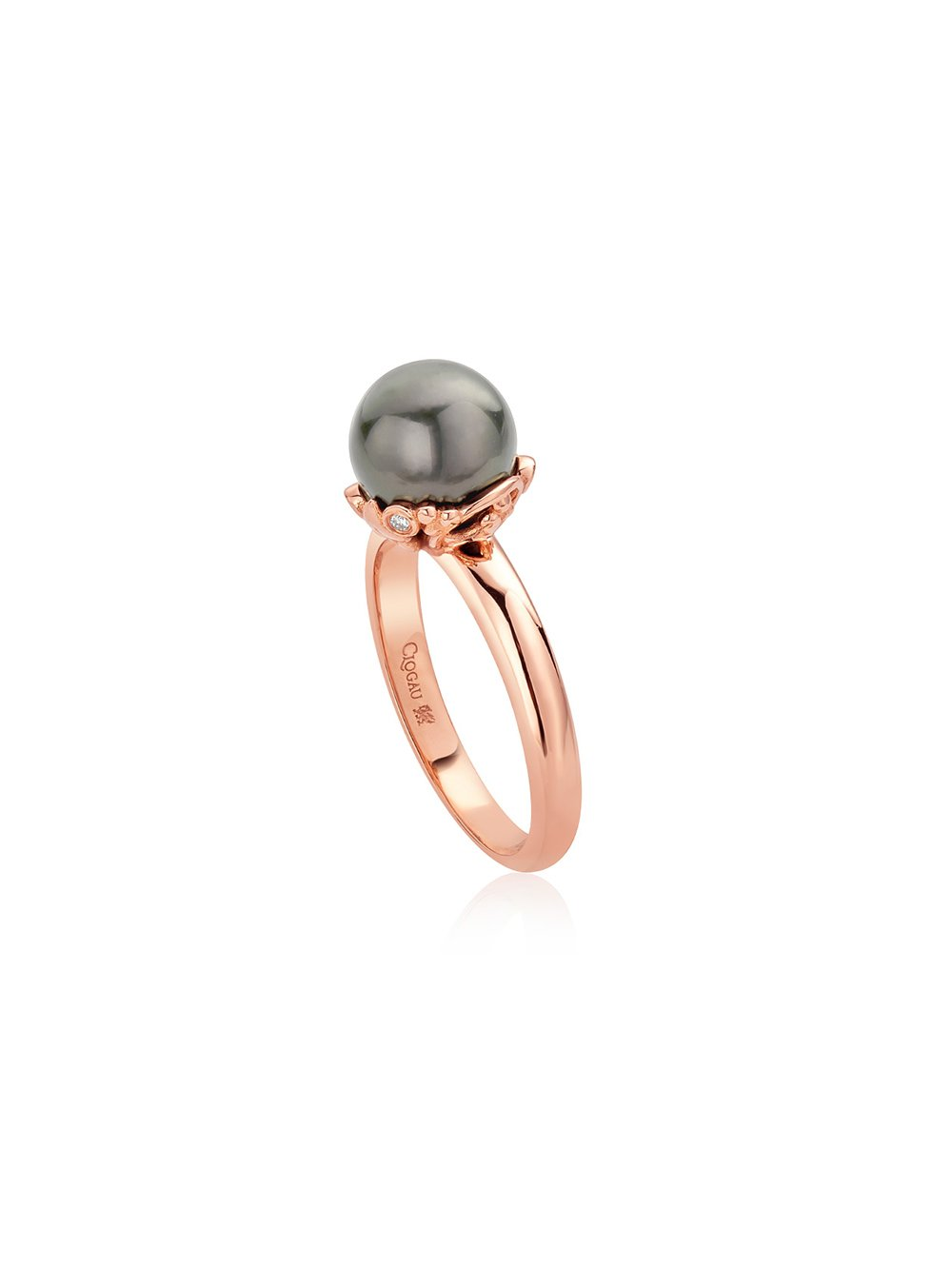 Clogau Tree of Life Tahitian Pearl Ring 18TLTHR/O