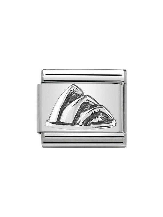 Nomination Classic Silver Opera House Charm 330105-24