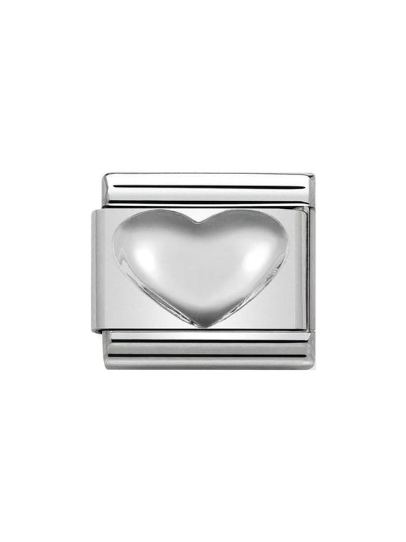 Nomination Classic Silver Heart Charm 330106-01
