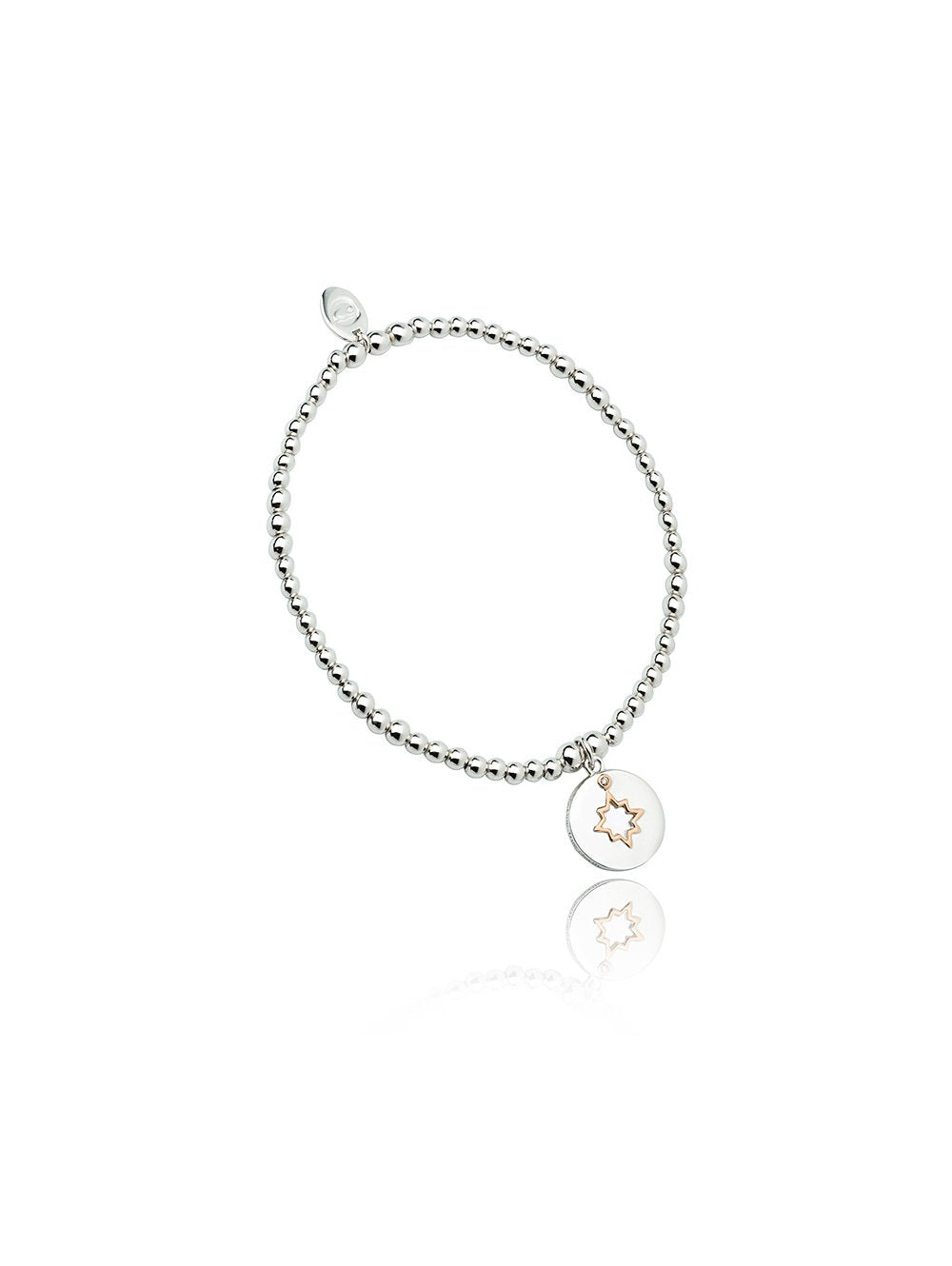 Clogau My True North Affinity Beaded Bracelet 16-16.5cm 3SBB65S