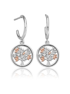 Clogau Tree of Life Drop Earrings 3SNTLCDE