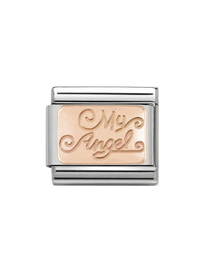 Nomination Classic Steel and Rose Gold My Angel Charm 430101-21