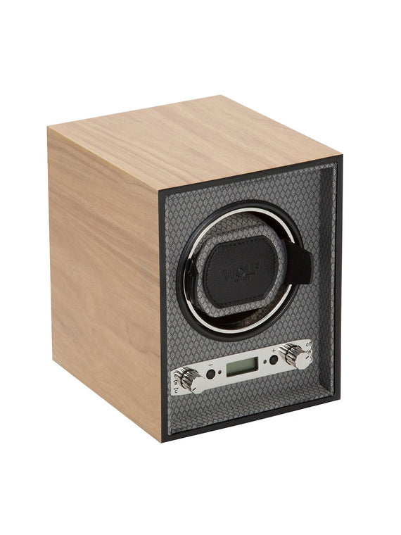 Wolf Meridian Single Watch Winder in Blonde 453828