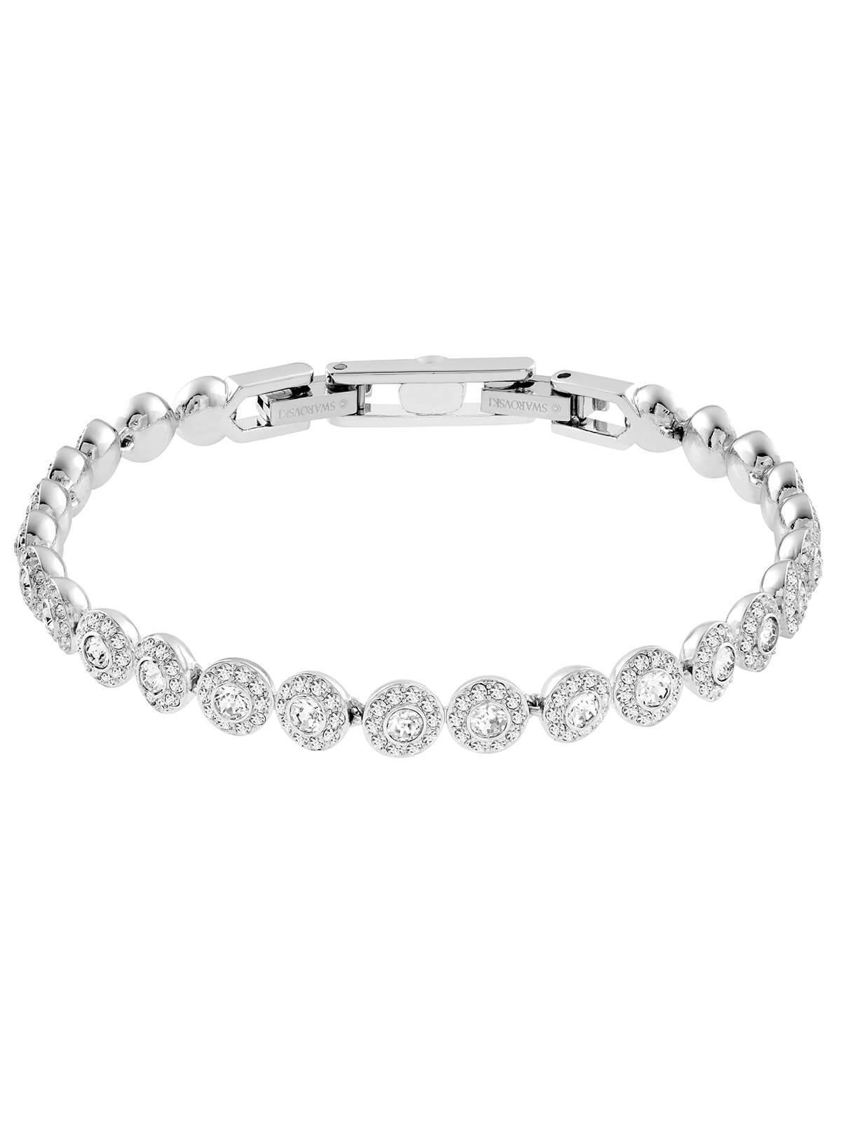 Swarovski Angelic Rhodium Plated and Clear Crystal Bracelet 5071173