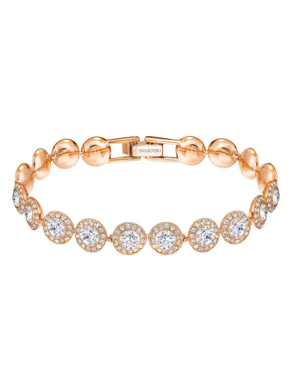 Swarovski Angelic Rose Gold Plated and Clear Crystal Bracelet 5240513
