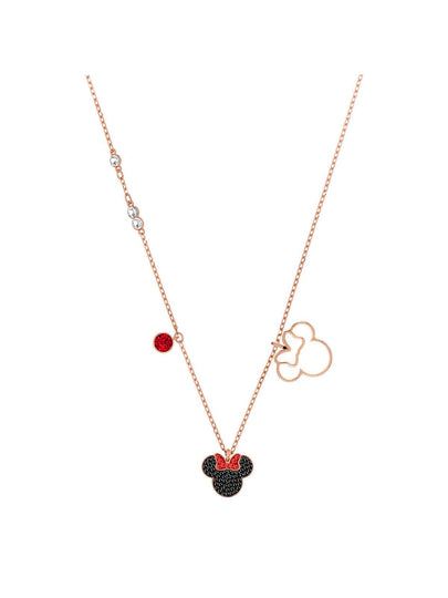 Swarovski Mickey & Minnie Rose Gold Plated and Crystal Minnie Mouse Pendant 5429090