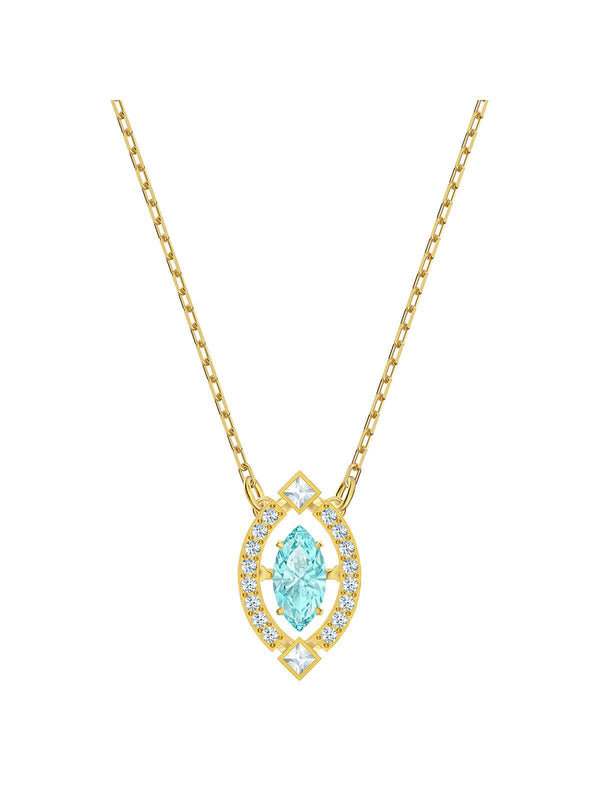 5497474 Swarovski Sparkling Dance Marquise Gold Plated & Crystal Necklace