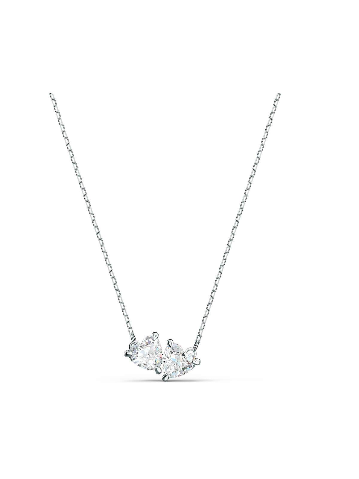 Swarovski Attract Soul Rhodium Plated & Crystal Necklace 5517117
