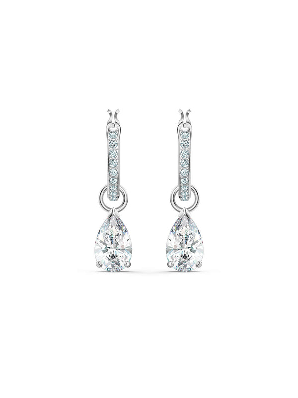 Swarovski Attract Pear Mini Hoop Earrings 5563119