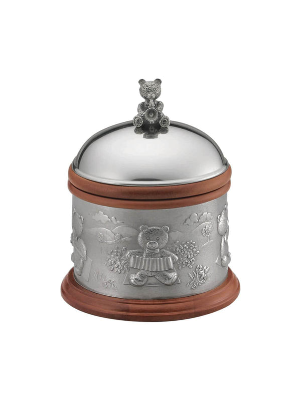 016430R Royal Selangor Teddy Bear's Picnic Musical Box