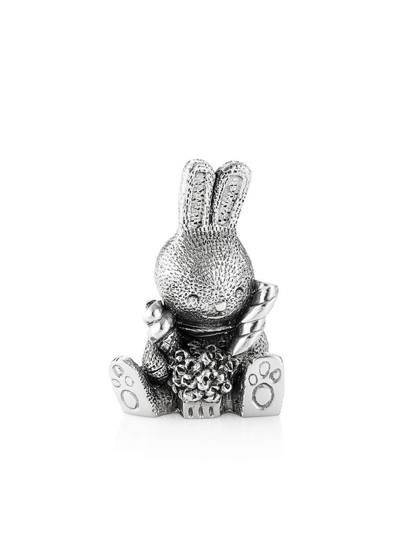 017904R Royal Selangor Bunnies Day Out Pip Rabbit Figurine