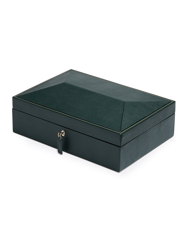Wolf British Racing Green 8 Piece Watch Box 792641