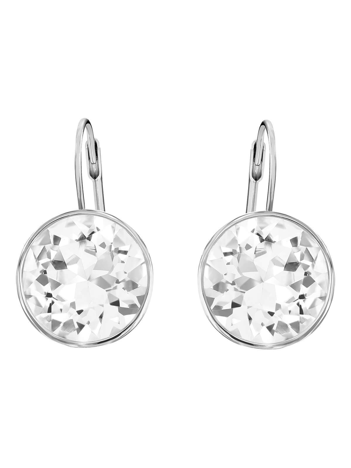 Swarovski Bella Rhodium Plated and Clear Crystal Earrings 883551