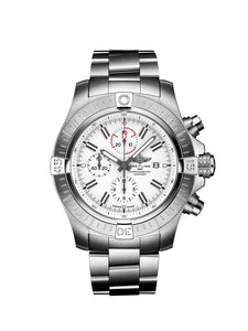 Breitling Super Avenger Chronograph Watch 48mm A133751A1A1A1