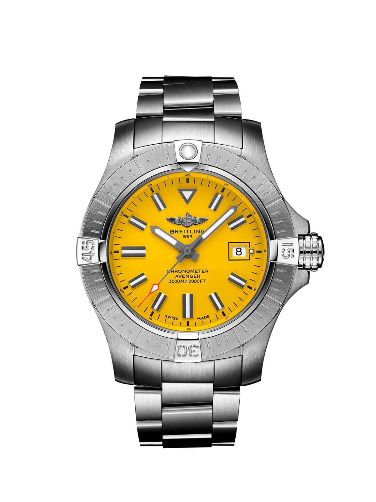 Breitling Avenger Seawolf Automatic Watch 45mm A17319101I1A1