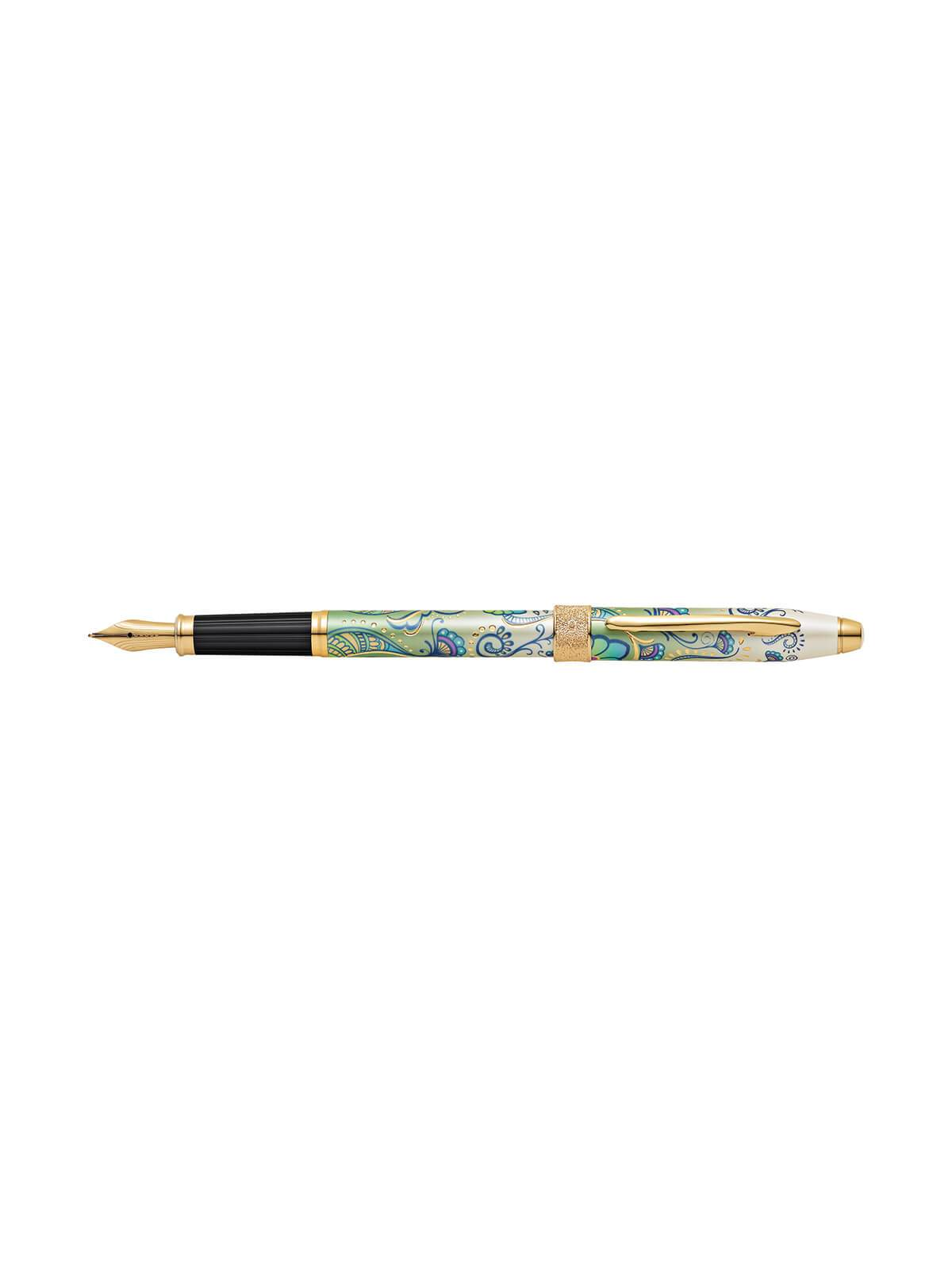 Cross Botanica Green Daylily Fountain Pen AT0646-4MF